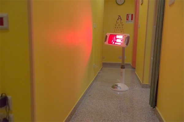 Vasto fisioterapia il lilium lampada ad infrarossi